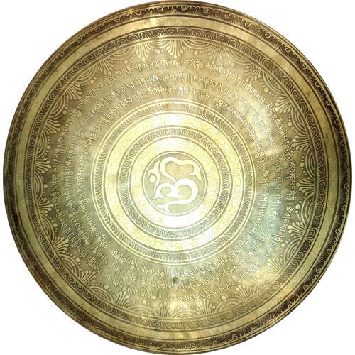 Gong Om mani padme hum és Om jel