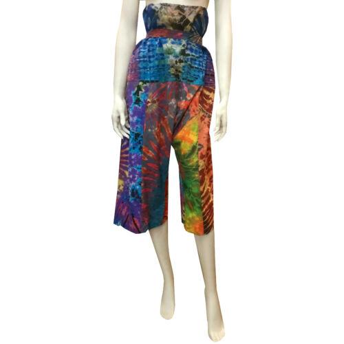 Batikolt bő nadrág