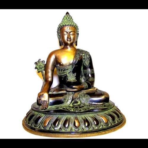 Gyógyító Buddha nagy bronz