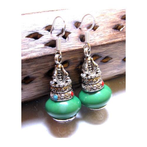 Nepáli dordzse füli zöld