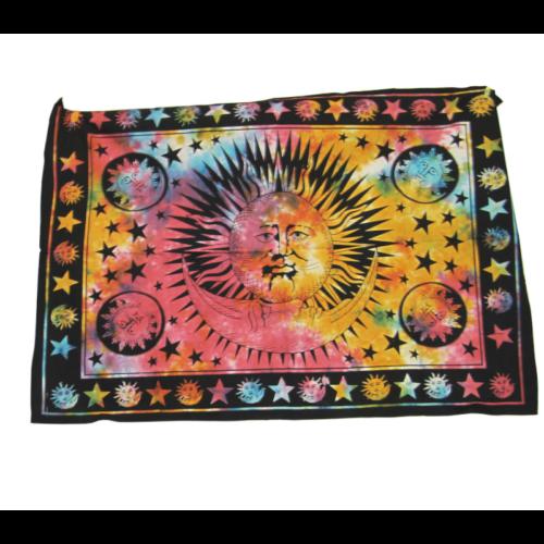 Textilkép nap-hold