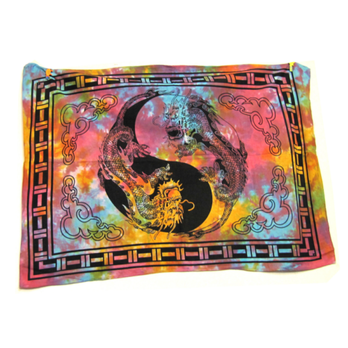 Textilkép sárkány