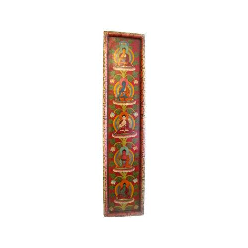 Öt meditációs Buddha falikép