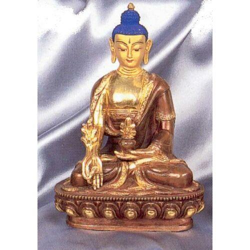 Gyógyító Buddha aranyozott 8