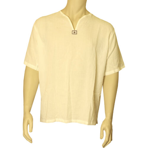 Pamut ing rövid ujjú fehér XXL