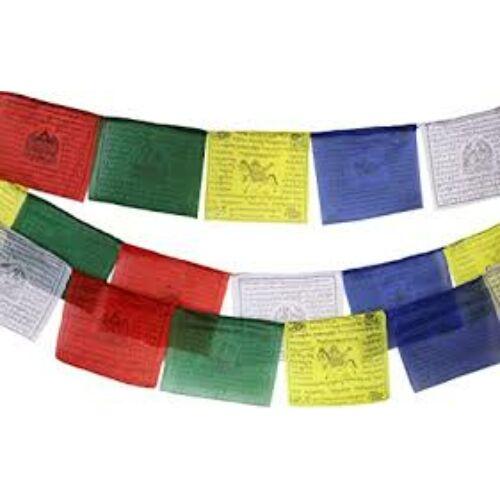 Buddhista imazászló szélparipás 10 lap 12*12 cm