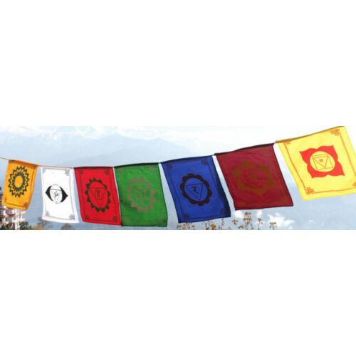 Csakra energia zászló