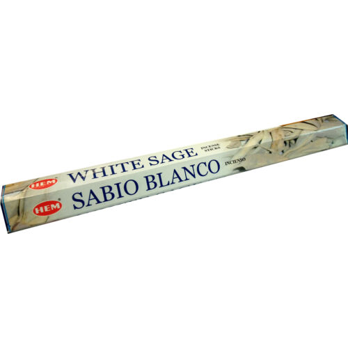 Fehér zsálya 6-szög  füstölő