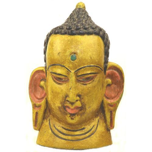 Buddha maszk festett 2