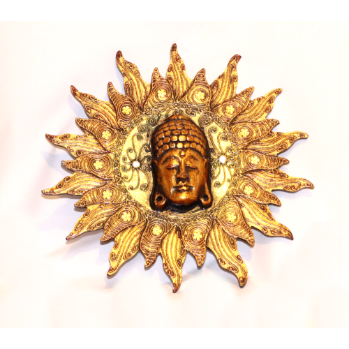 Buddha fej napban