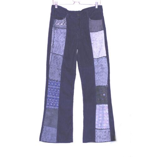 Kord nadrág kék M