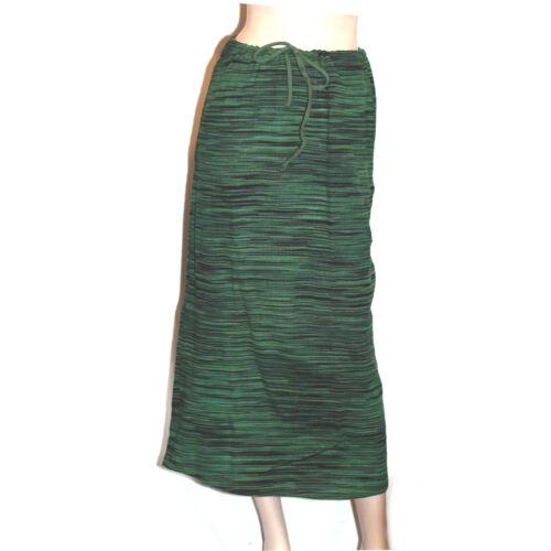 Csíkos szoknya zöld