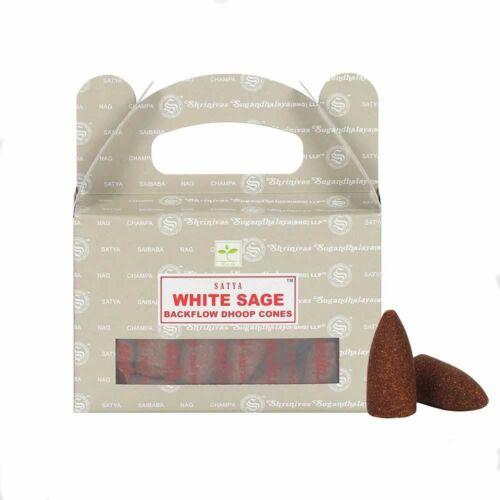 Visszaáramló kúp füstölő - Fehér zsálya