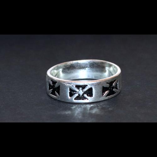 Forma gyűrű karika kereszt