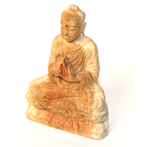 Szantál Buddha szobor 11