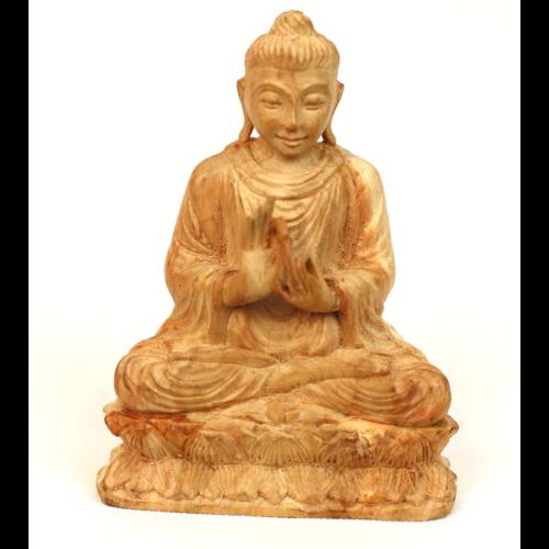 Szantál Buddha szobor 4
