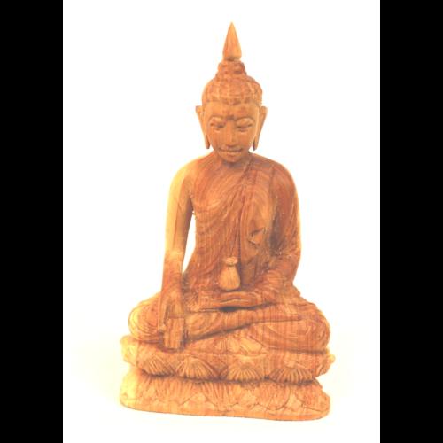 Szantál Buddha szobor 6