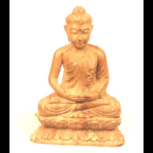 Szantál Buddha szobor 8