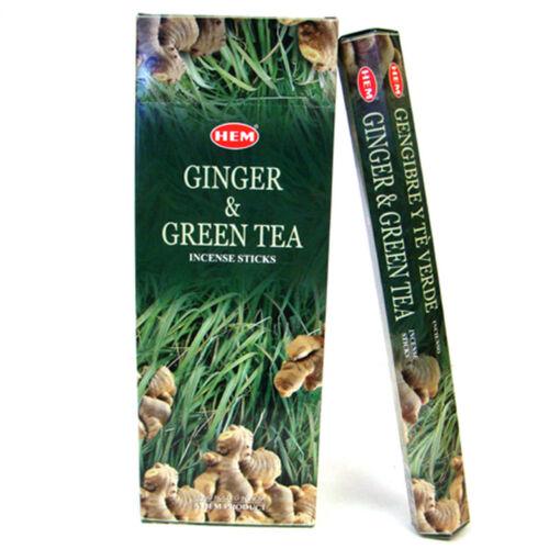 Ginger & Green tea füstölő