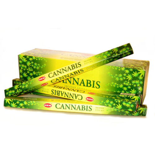 Cannabis füstölő - HEM  / 4-szög