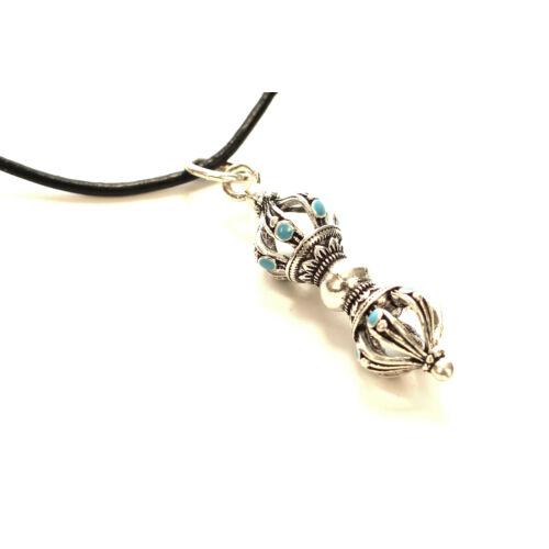 Dordzse ezüst színű  kővel