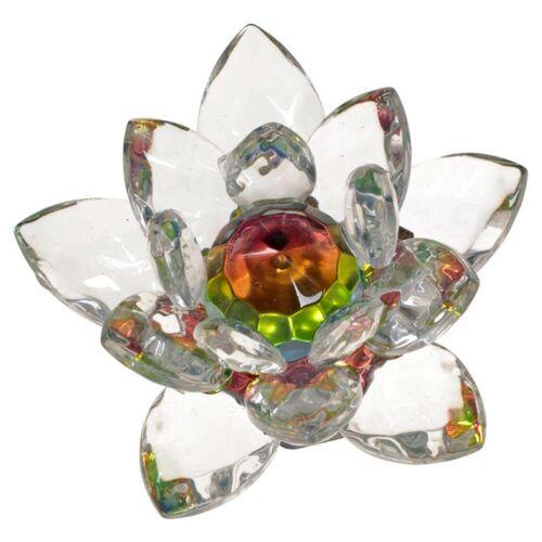 Lótusz kristály dísz