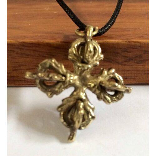 Dordzse kereszt medál ezüst