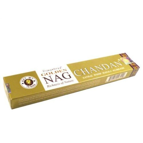 Golden Nag Chandan füstölő arany szantálos