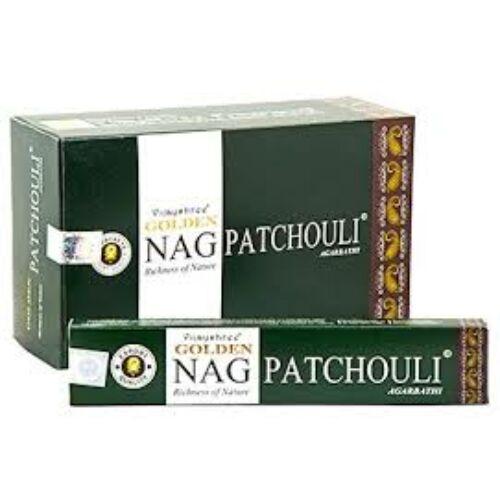 Golden Nag Patchouli