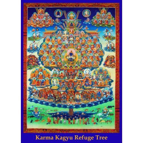 Karma Kagyu menedékfa poszter