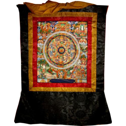 Mandala thanka Buddha élete