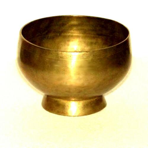 Hangtál kézi antik talpas 920 gr.