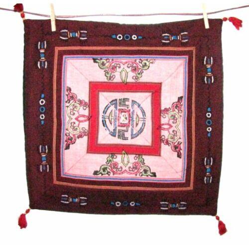 Tibeti mintás díszpárna 7