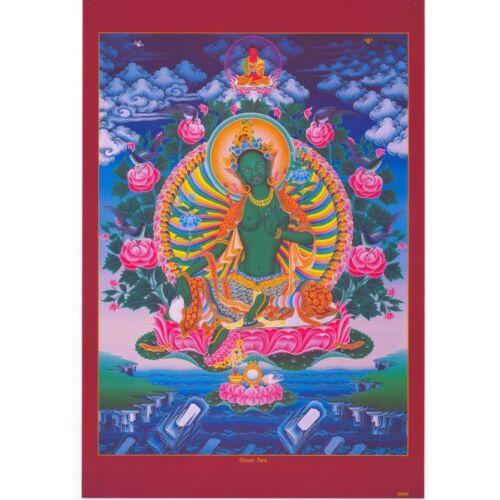 Zöld  Tara poszter