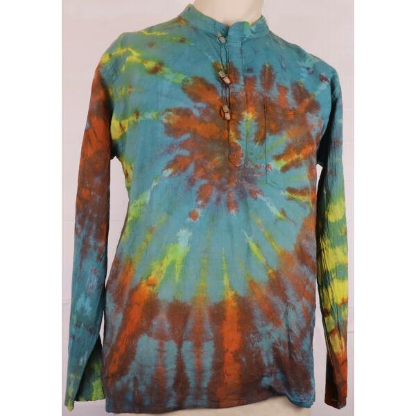 Batikolt színes ing 4