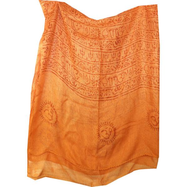 Pamut sál mantrás nagy narancssárga