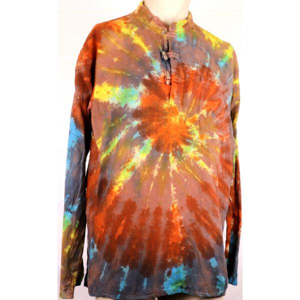 Batikolt színes ing 3