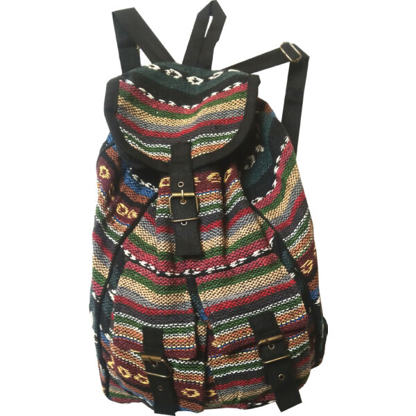 Szőttes hátizsák 2