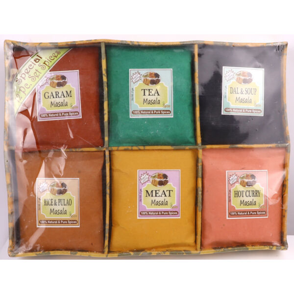Masala tea és fűszerek csomagban