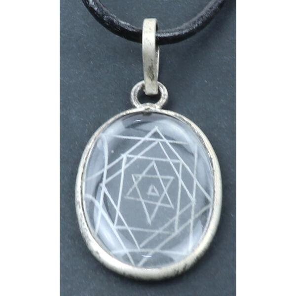 Sri Yantra amulett medál 2