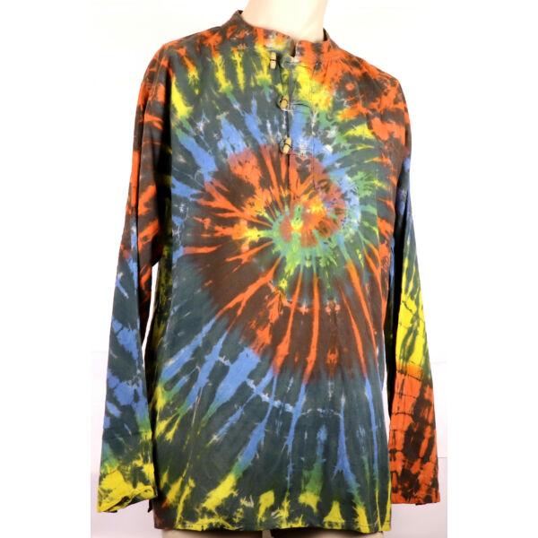 Batikolt színes ing 2