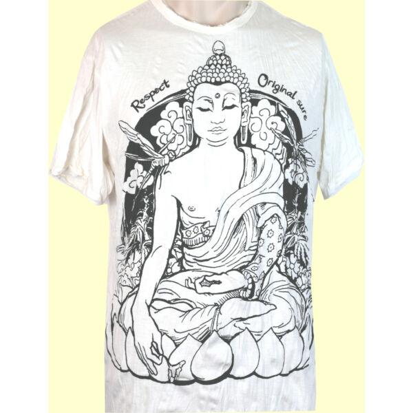 SURE Buddha fehér M
