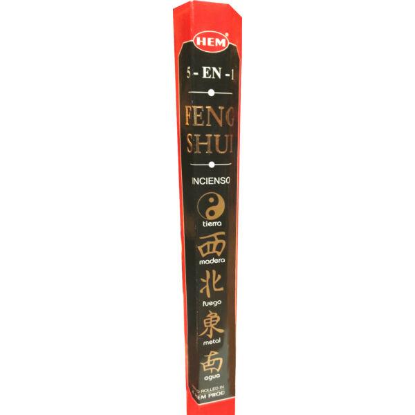 Feng Shui - Öt elem füstölő HEM 6szög