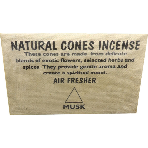 Tibeti musk kúp füstölő