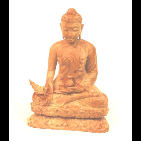Szantál Buddha szobor 10