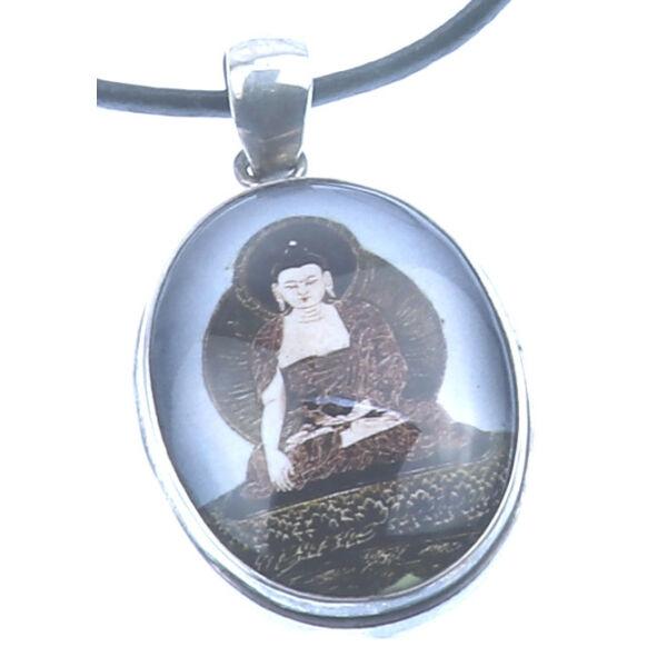 Egyedi Buddha amulett medál