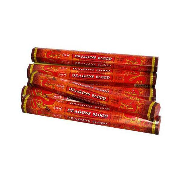 Sárkányvér füstölő - HEM 6-szög