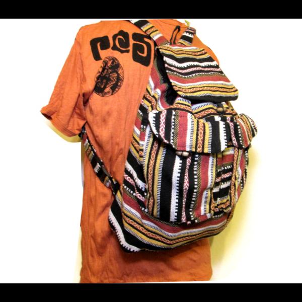 Szőttes hátizsák több szín