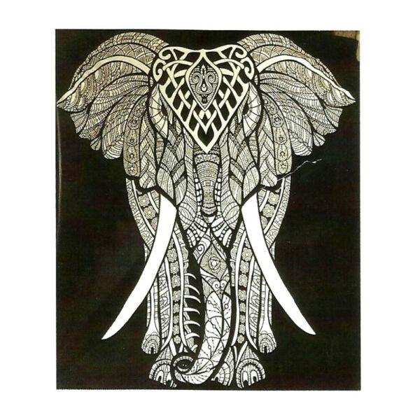 Elefántos fekete-fehér 145