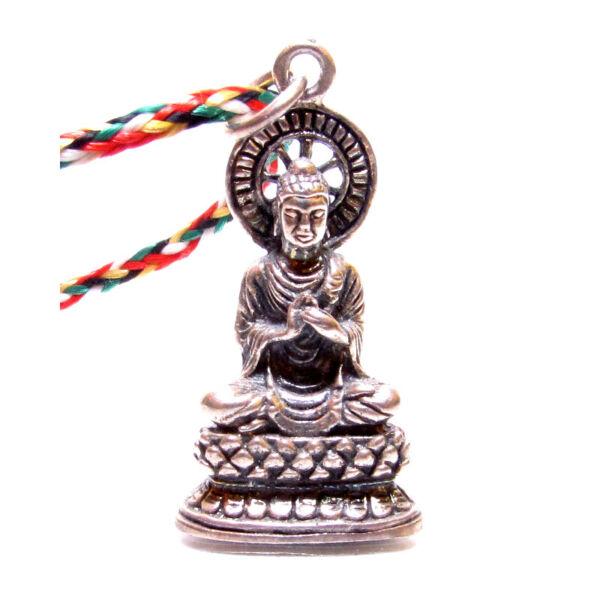 Buddha medál ezüst